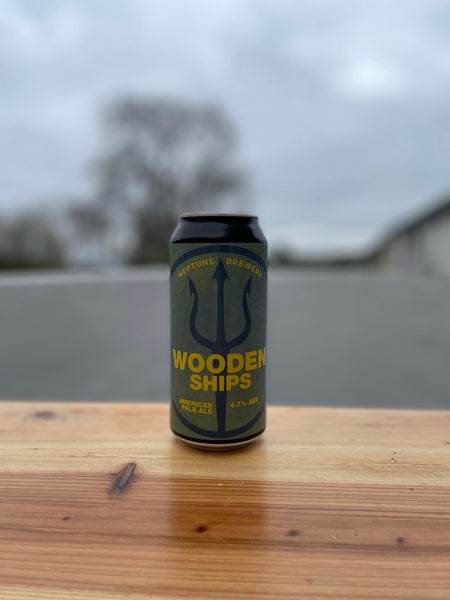 Wooden Ships by Neptune -  4.7% Pale Ale - 440ml Can