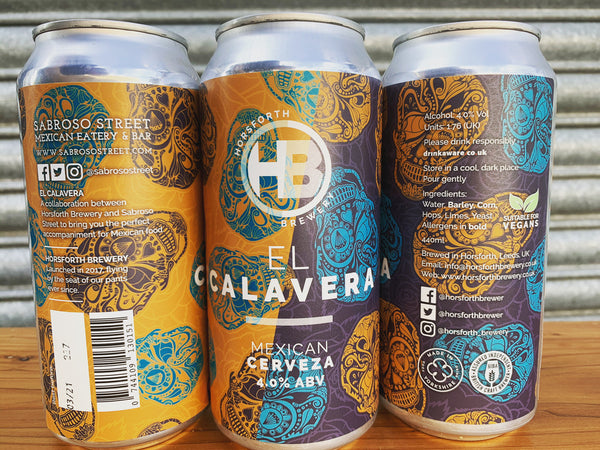 El Calavera Mexican Pale - 4% - 440ml Can