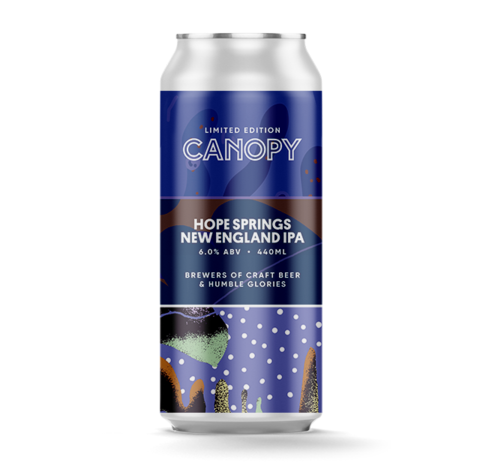 Canopy's Hope Springs -  6.0% New England IPA - 440ml Can
