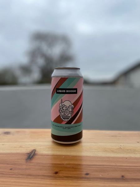 Liquid Boogie by Crooked Brewing -  5.5% Hot Chocolate & Marshmallow Sout - 440ml Can