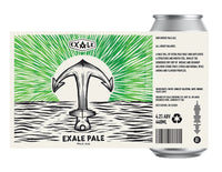 Exale's Pale -  4.0% - 440ml Can