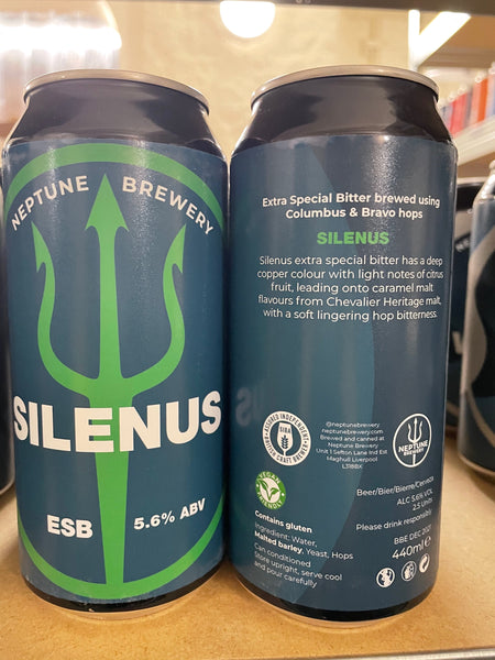 Neptune Brewery's Silenus -  5.2% - 440ml Can