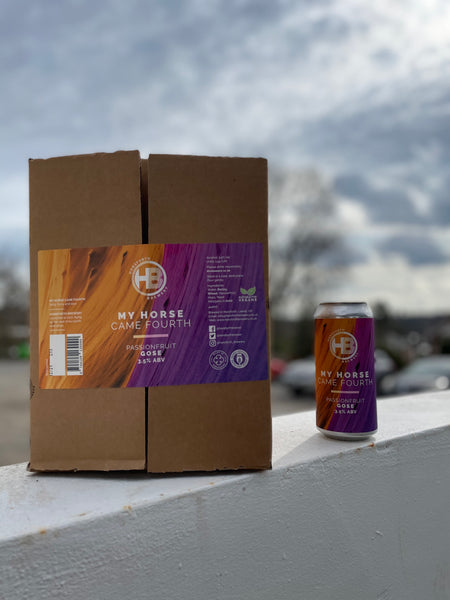 My Horse Came Fourth Passion Fruit Gose - 3.5% - 12 440ml Cans Box