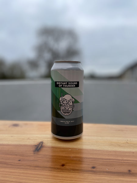 Distant Sound of Thunder by Crooked Brewing -  5.8% India Pale Ale - 440ml Can