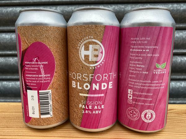 Blonde -3.8% Session Pale - 440ml Can