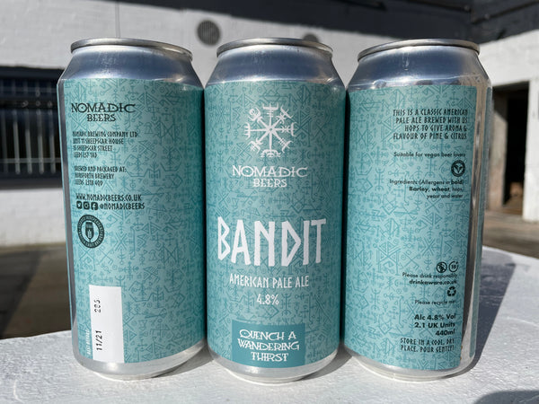 Nomadic's Bandit - 4.8% American Pale - 440ml Can