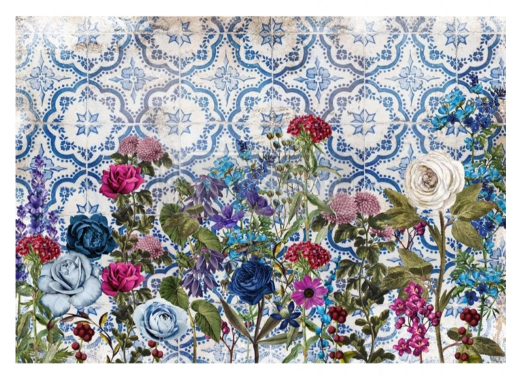 Redesign Decoupage Rice Paper- Moonlight Garden