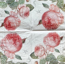 Load image into Gallery viewer, Elisabeth Roses Decoupage Napkins