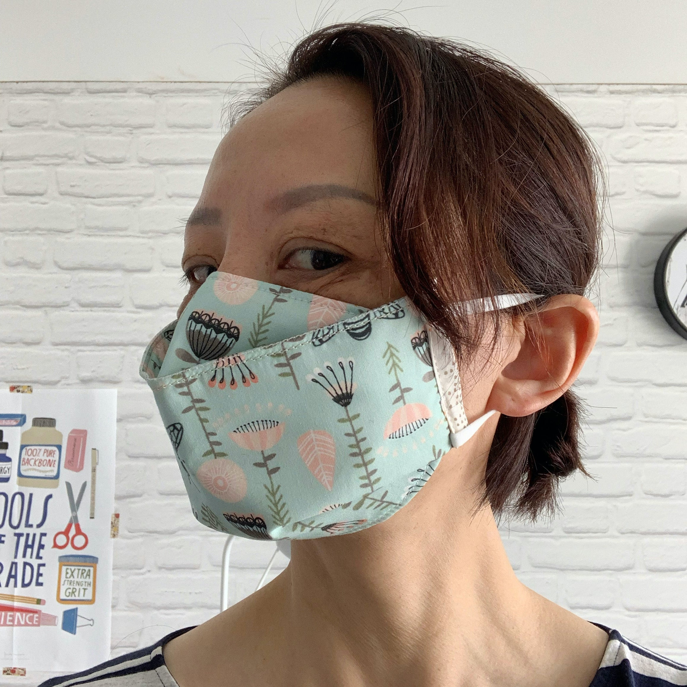 Three Layer Face Masks with Filter
