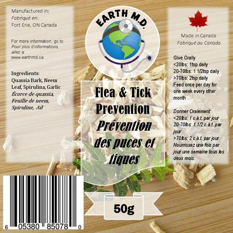 EARTH MD FLEA/TICK REPELLENT 50G