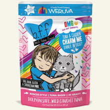 Load image into Gallery viewer, WERUVA BFF TUNA/CHICK CHARM CAT PCH 3OZ