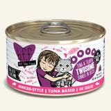 WERUVA BFF TUNA/TILAPIA TWO CAT CAN 3OZ