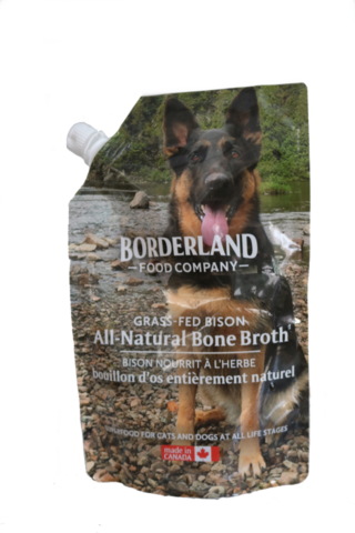 BORDERLAND BONE BROTH BISON 591ML