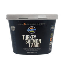 BCR TURKEY/SALMON/LAMB TUB 4LB