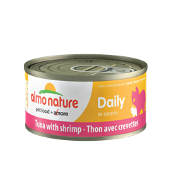 ALMO CAT DAILY TUNA/SHRIMP 70G