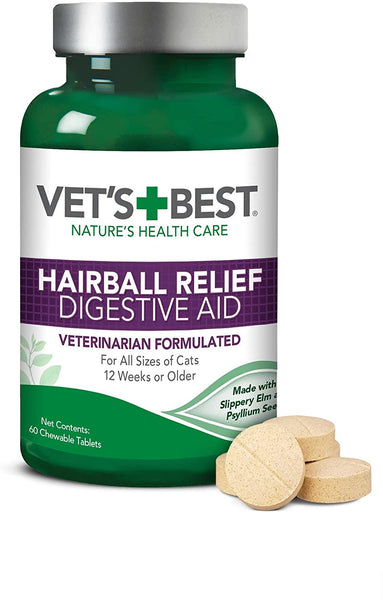 VB HAIRBALL RELIEF 60TAB
