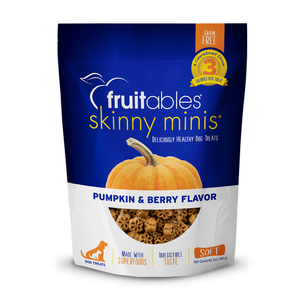FRUITABLES MINI TREATS PUMP/BERRY 5OZ