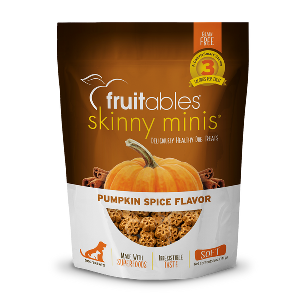FRUITABLES MINI TREATS PUMPKIN SPICE 5OZ