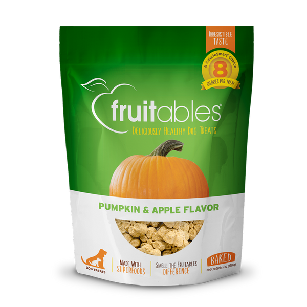 FRUITABLES TREATS PUMPKIN/APPLE 7OZ