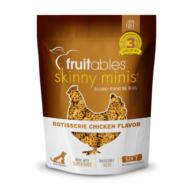FRUITABLES MINI TREATS CHICKEN 5OZ