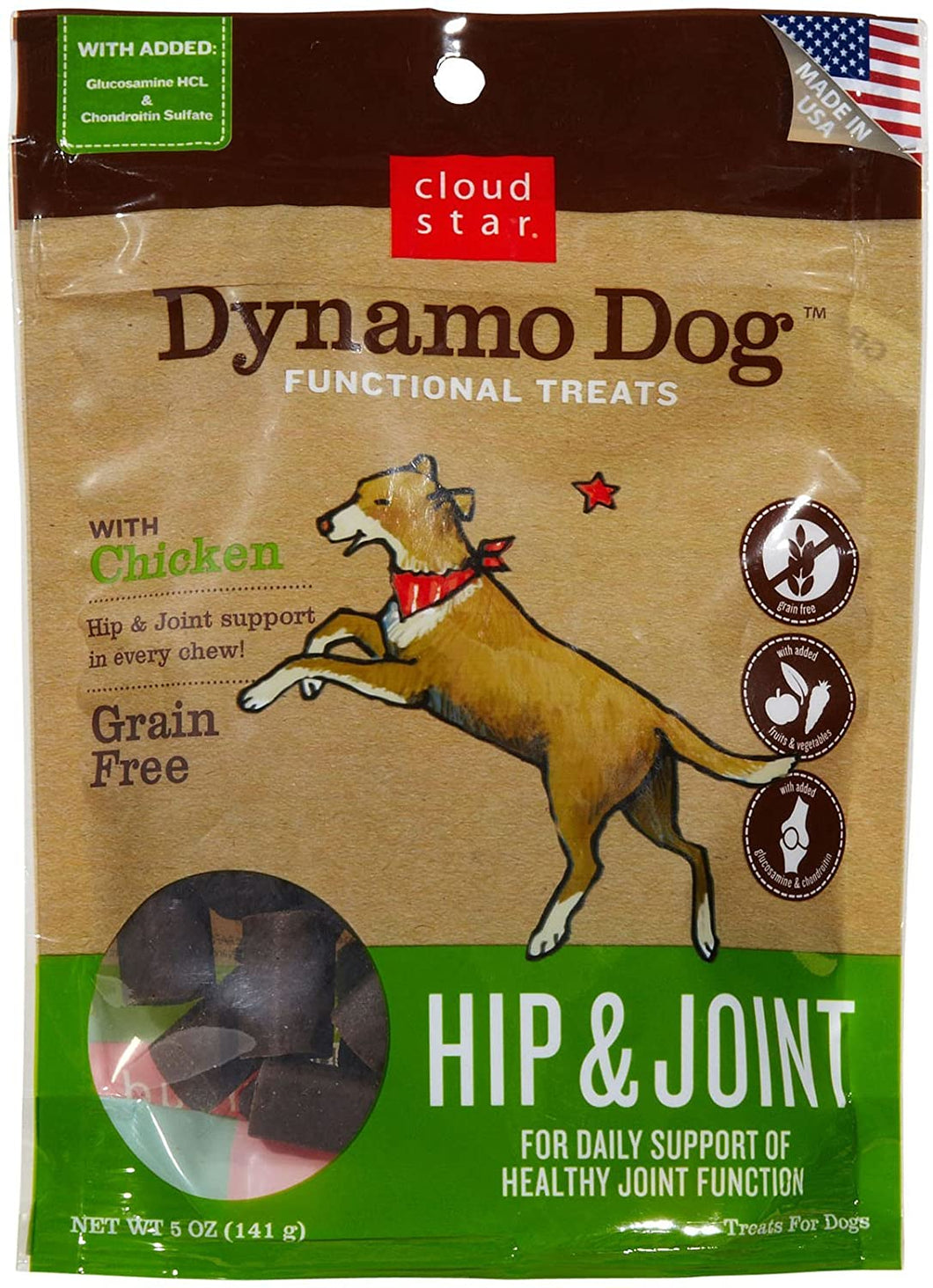 CS DYNAMO DOG HIP/JOINT CHICKEN 5OZ
