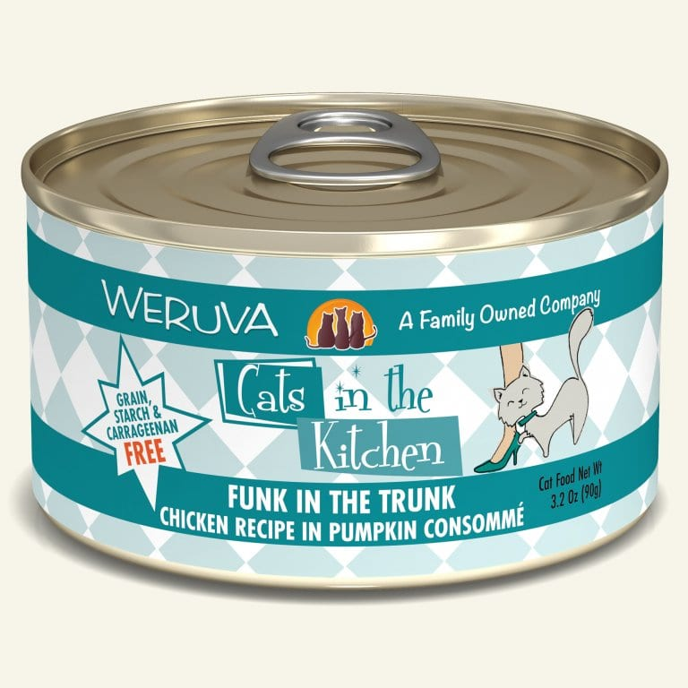 WERUVA CIK FUNK IN TRUNK CAT CAN 3.2OZ