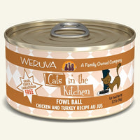 WERUVA CIK FOWL BALL CAT CAN 3.2OZ