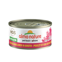 ALMO CAT NAT CHICK/LIVER 70G