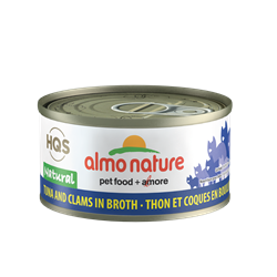 ALMO CAT NAT TUNA/CLAMS 70G