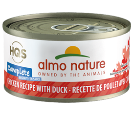 ALMO CAT COMP CHICK/DUCK 70G