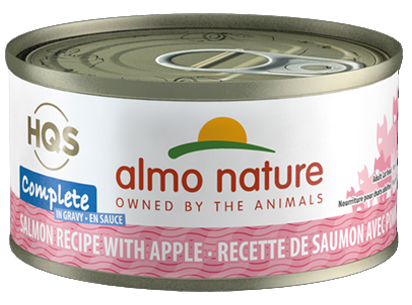 ALMO CAT COMP SALM/APPLE 70G