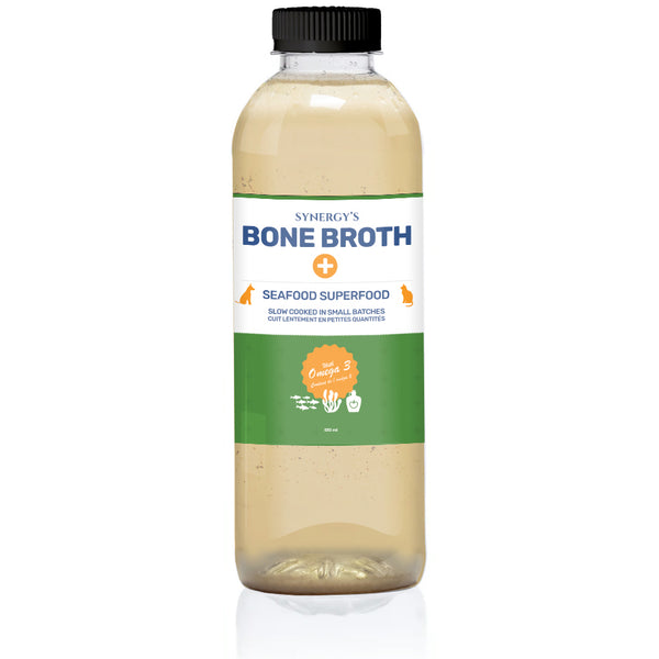 TOTALLY RAW SEAFOOD BONE BROTH 550ML