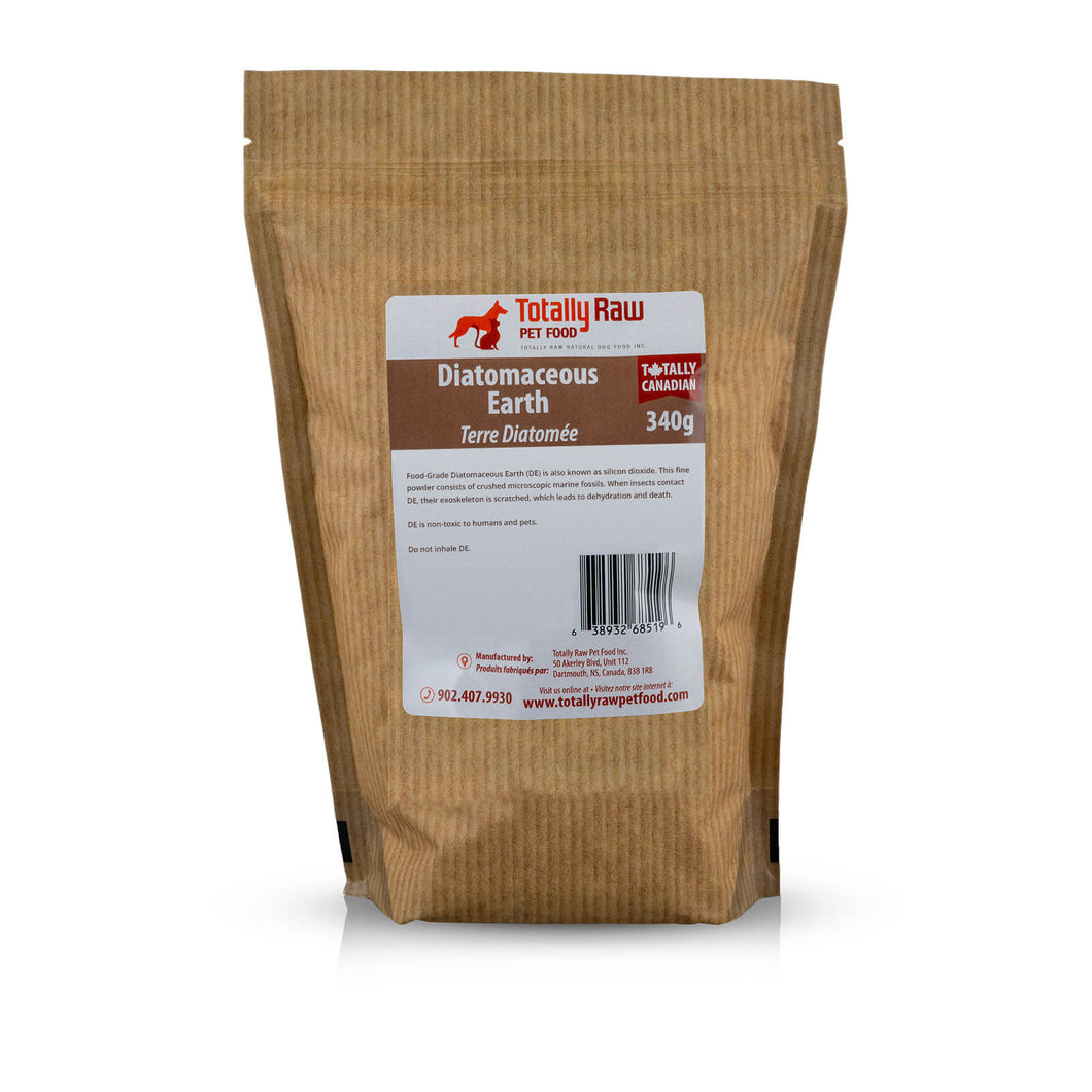 TOTALLY RAW DIATOMACEOUS EARTH 340G BAG