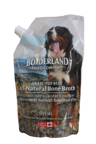 BORDERLAND BONE BROTH BEEF 591ML