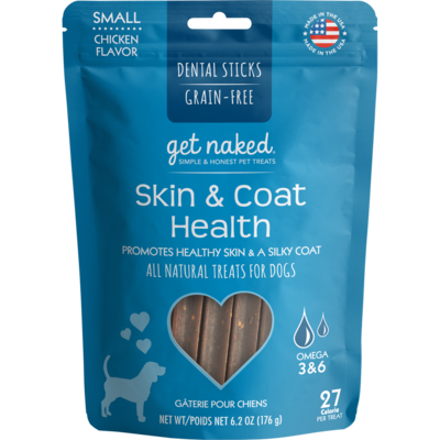 GET NAKED SKIN & COAT CHEW SM 176G