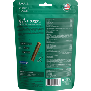 GET NAKED LOW CALORIE CHEW LG