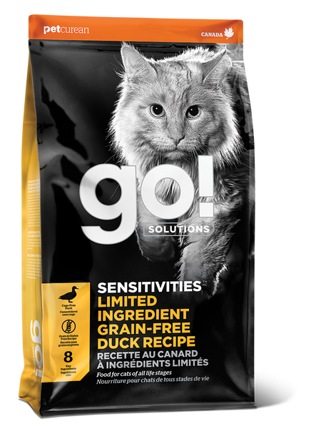 GO CAT SENSITIVITY LID DUCK 8LB