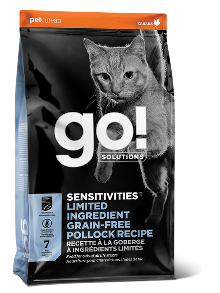 GO CAT SENSITIVITY LID POLLOCK 16LB