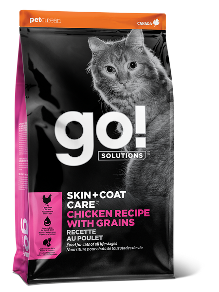 GO CAT SKIN & COAT CHIC 8LB