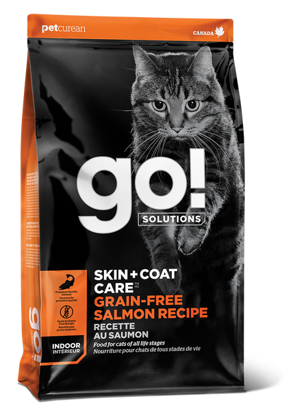 GO CAT SKIN & COAT GF SALM 16LB