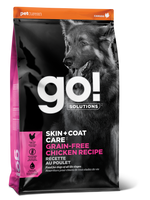 GO DOG SKIN & COAT GF CHIC 12LB