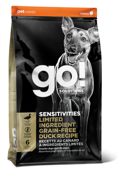 GO DOG SENSITIVITY LID DUCK 12LB