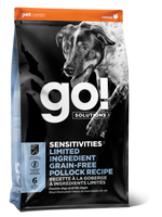 GO DOG SENSITIVITY LID POLLOCK 3.5LB