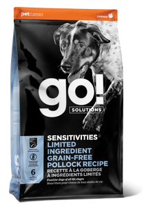GO DOG SENSITIVITY LID POLLOCK 22LB