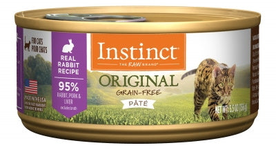NV INSTINCT RABBIT CAT CAN 156G