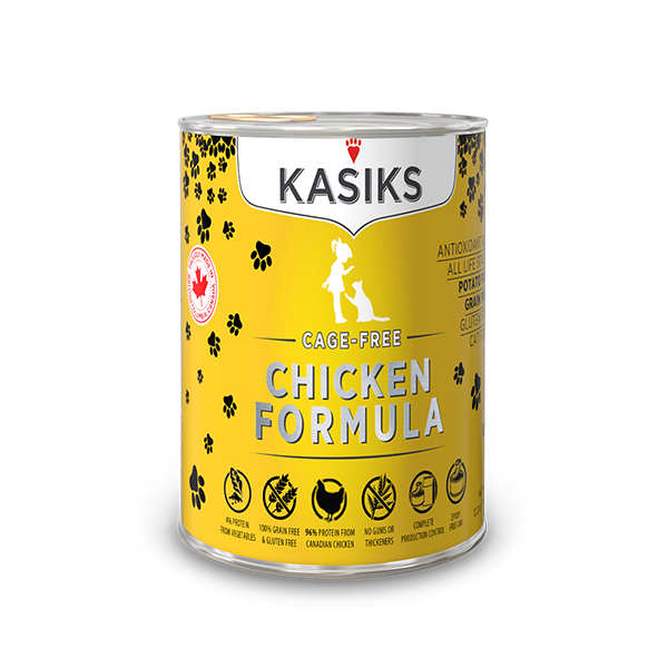 KASIKS CF CHICKEN CAT CAN 12.2OZ