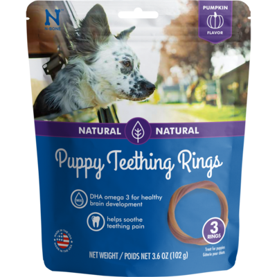 NPIC NBONE PUP TEETHING RING PUMP 3PK
