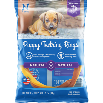 NPIC NBONE PUP TEETHING RING PUMP SINGLE