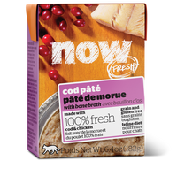NOW FRESH GF COD PATE CAT 6.4OZ