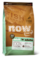 NOW FRESH SM BREED GF FISH 12LB